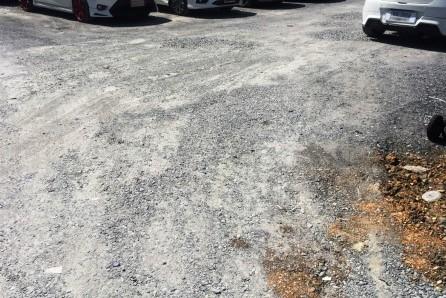 งานถมหินคลุก ทำลานจอดรถ ซอยลาดพร้าว 94